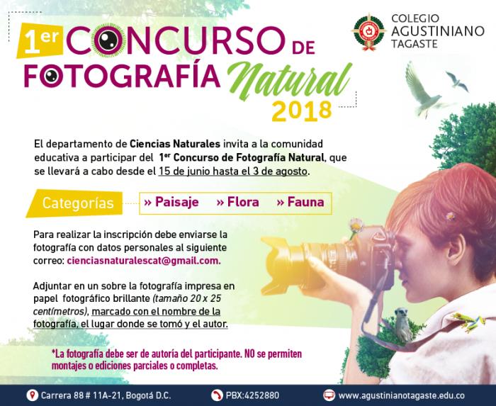concurso agustiniano fotografia natural 2018