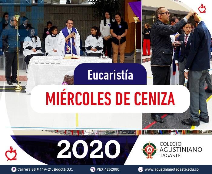 Miercoles de ceniza agustiniano 2020