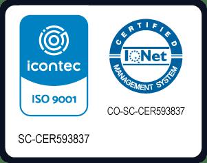 Sello ICONTEC ISO 9001 Agustiniano TAGASTE 2020