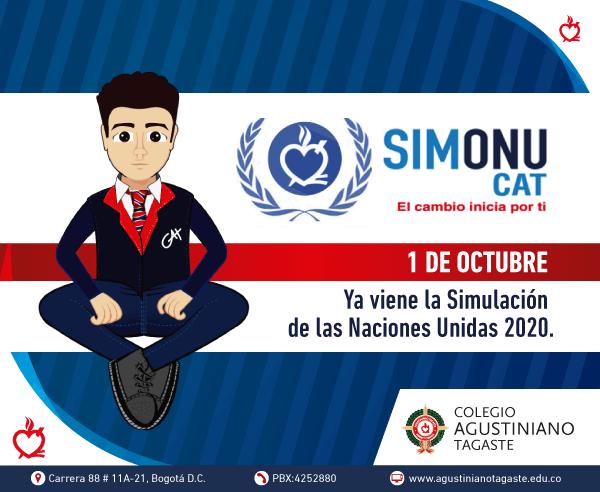 SIMONU 2020 invitación